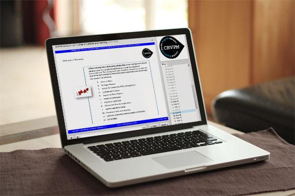 Certified Regulatory Vendor Program Manager (CRVPM)